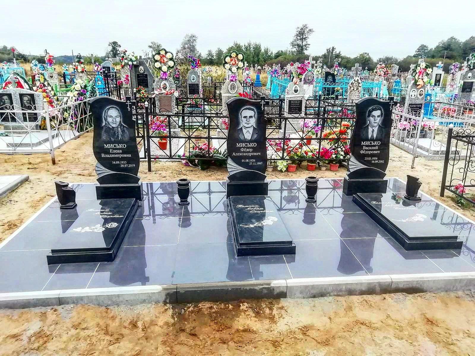 Керамогранит благоустройство могил Пинск